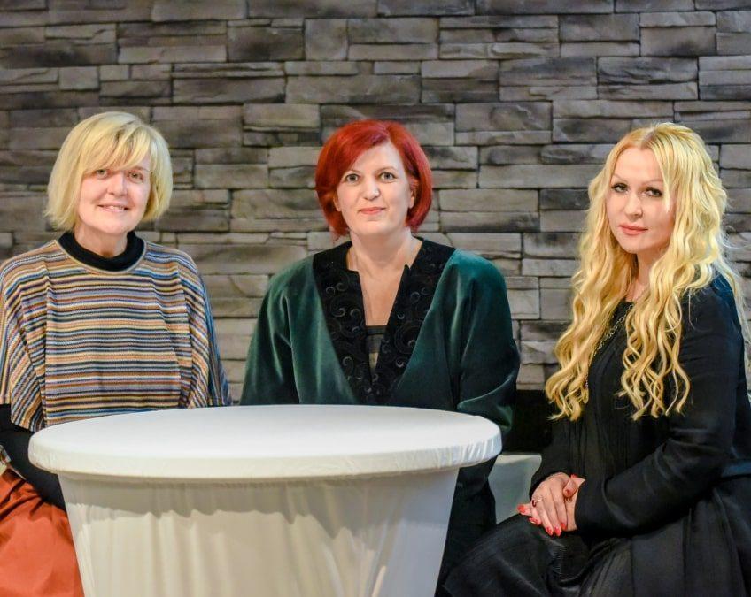 Nevenka Kršilović, Draženka Pleško i Maria Škornjak